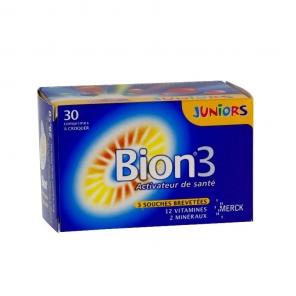 Bion 3 junior goût framboise 30 comprimés