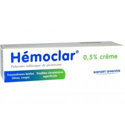 Hemoclar 0,5% crème 30g