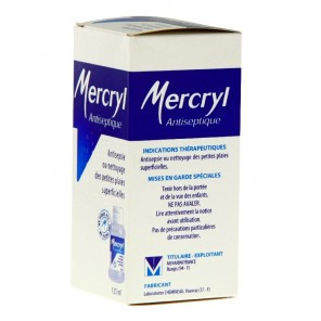 Mercryl application cutanée 125 ml