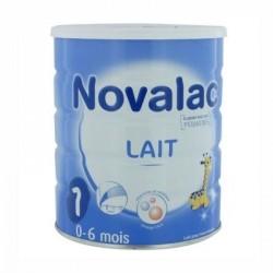 Novalac lait 1er âge 0 à 6 mois 800g