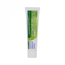 Homéodent dentifrice bi-fluore soin dents format voyage