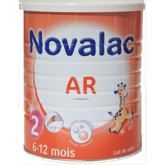 Novalac lait AR 2ème âge 6 à 12 mois 800g