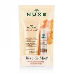 Nuxe Kit Découverte Rêve de Miel Crème Mains et Ongles 30ml + Stick Lèvres Hydratant