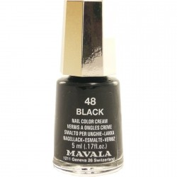 Mavala Vernis à Ongle Mini 48 Black 5ml