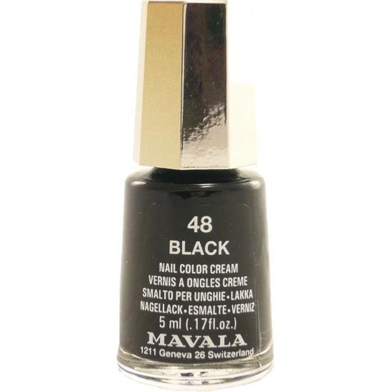 Mavala Vernis à Ongle Mini 48 Black 5ml