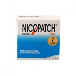 Nicopatch 7mg/24h dispositif transdermique 28 patchs