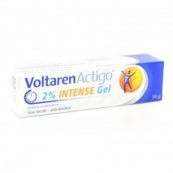 Voltarenactigo 2 % Intense Gel Tube 30g