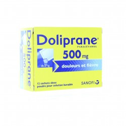 DOLIPRANE 500MG PDR OR B/12SACH