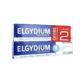 Elgydium Blancheur Lot de 2 x 75 ml
