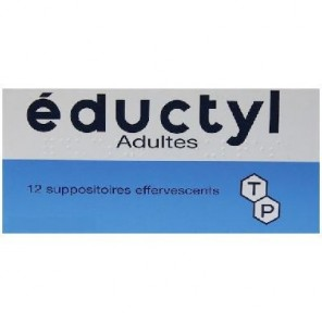 Eductyl 12 suppositoires