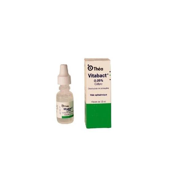 Vitabact collyre 0,05% 10ml