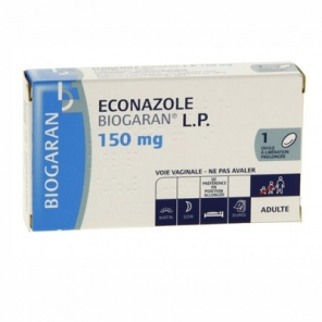 Econazole Biogaran LP 150mg Ovule