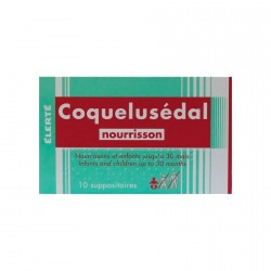 Coquelusedal suppositoire nourrissons 10 suppositoires
