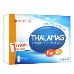 Thalamag Magnésium Marin Vitalité 60 Gélules