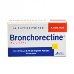 Bronchorectine au citral adultes 10 suppositoires