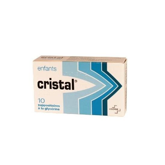 Cristal Suppositoire enfant 10 suppositoires