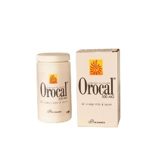 Orocal 500mg 60 comprimés