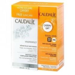 Caudalie vinoperfect sérum éclat anti-taches 30ml + 1 crème solaire 50+ 40ml OFFERTE