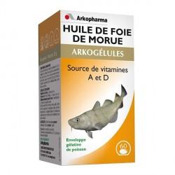 ARKOGELULES Huile de Foie de Morue x60 capsules