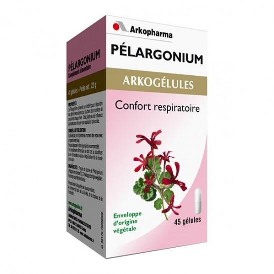 Arkopharma arkogélules pelargonium 45 gélules