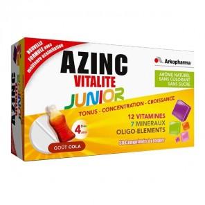 Arkopharma azinc vitalité junior gout cola 30 capsules