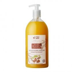 Mkl shampooing douche beurre de karité d'afrique 1L