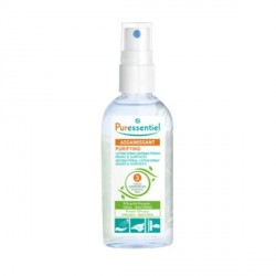 Puressentiel assainissant spray lotion hydroalcoolique 25ml