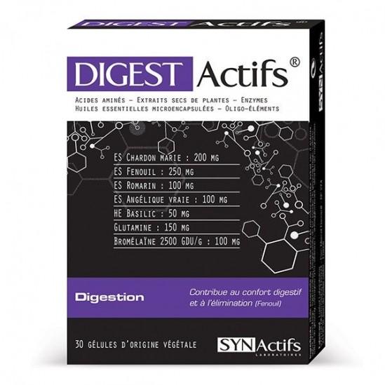 Synactifs digestactifs boite de 30 gélules