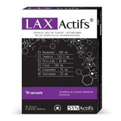 Synactifs laxactifs boite de 20 gélules
