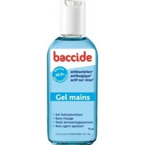 BACCIDE GEL HYDRO BLEU 75ML+33% OFF