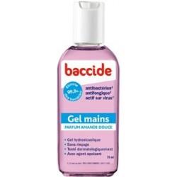 Baccide gel hydro-alcoolique à l'amande douce 75ml