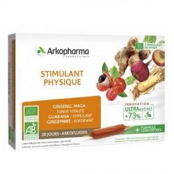 Arkofluide bio stimulant physique 20x10ml ampoules
