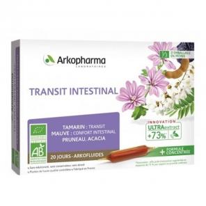 Arkofluide bio transit intestinal 20x10ml ampoules