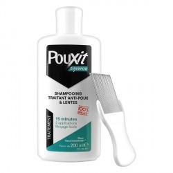 Pouxit shampoing traitant anti-poux et lentes 200ml + peigne
