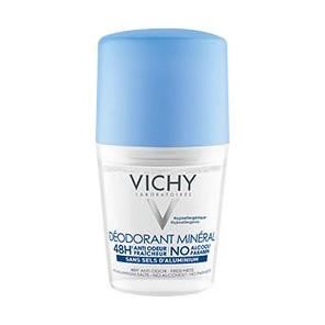 Vichy Minéral - Ssns sels d'aluminium roll-on déodorant 50ml