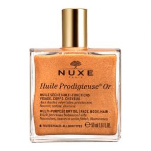 Nuxe Huile Prodigieuse Or huile sèche pailletée flacon 50ml