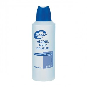 Cooper alcool 90° denature 250ml