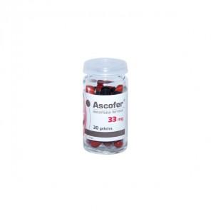 Ascofer complément alimentaire 30 gélules 33mg