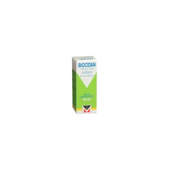 Biocidan Collyre flacon 10ml