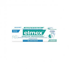 Elmex® dentifrice sensitive professional blancheur 75ml