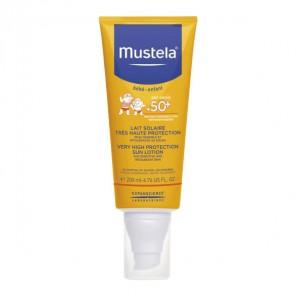 Mustela bébé-enfant lait solaire spf50 200ml