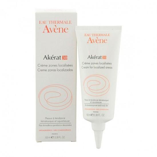 Avène Akérat 30 crème zones localisées 100ml