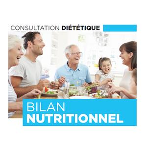 Consultation bilan nutritionnel
