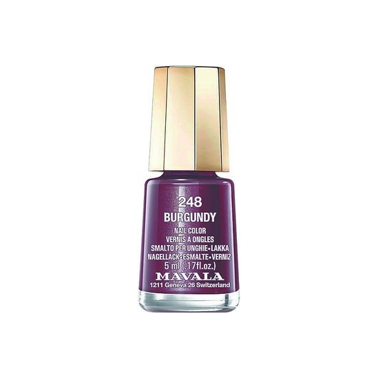 Mavala mini vernis 248 burgundy 5ml