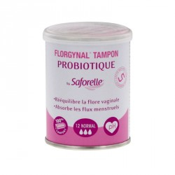 Saforelle Florgynal probiotic normal 12 tampons