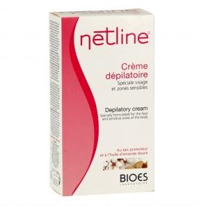 Netline crème dépilatoire visage zone sensible 75ml